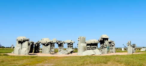 Carhenge-in the Sunshine